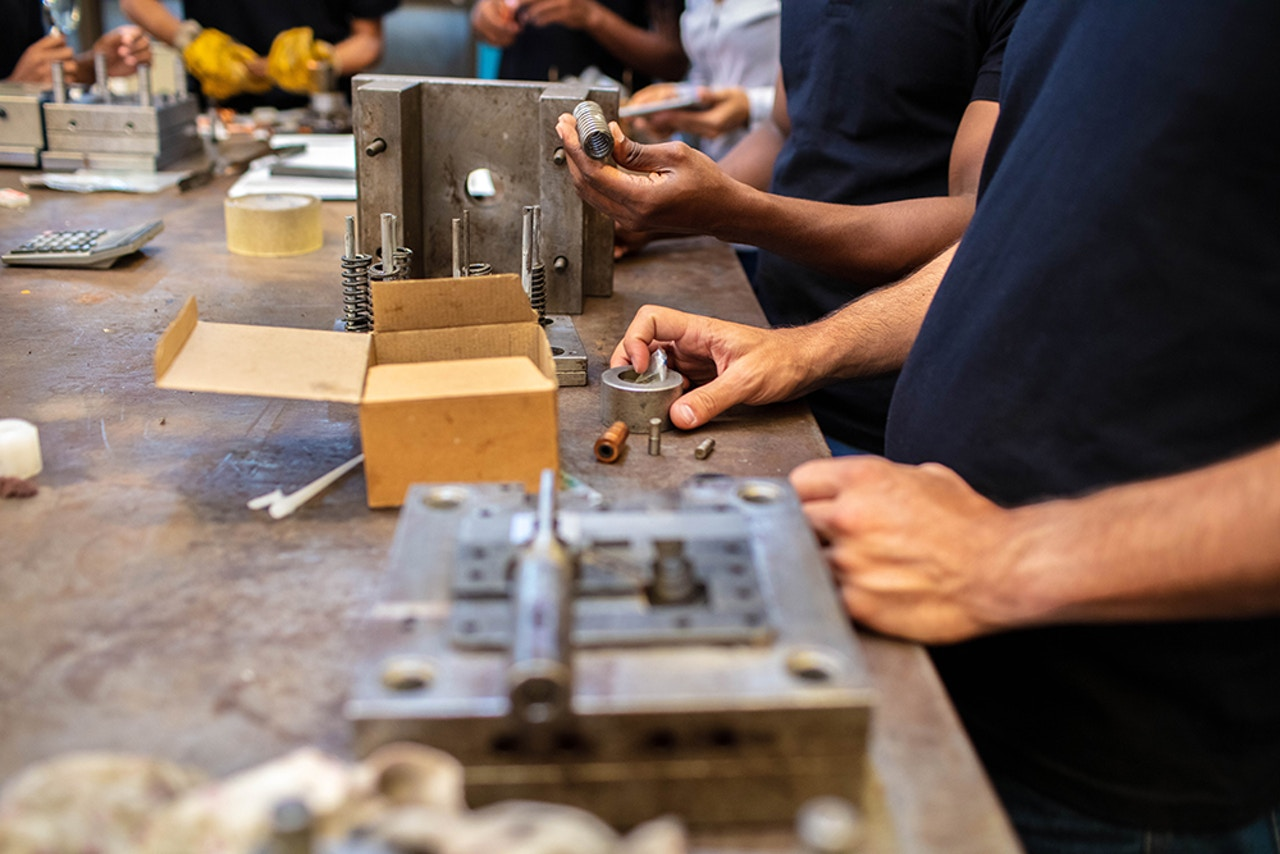 Industrial manufacturing & product assembly
