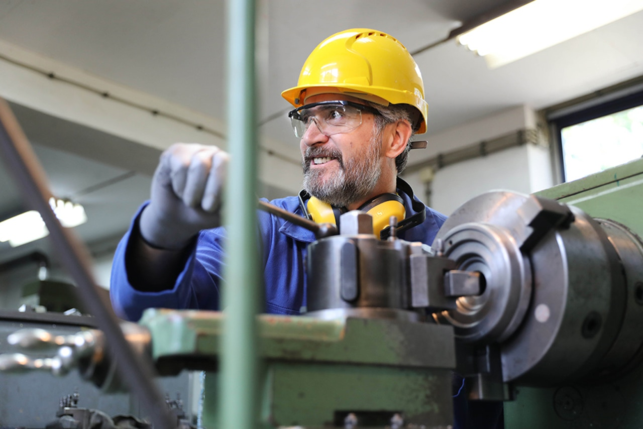 Industrial component manufacturing