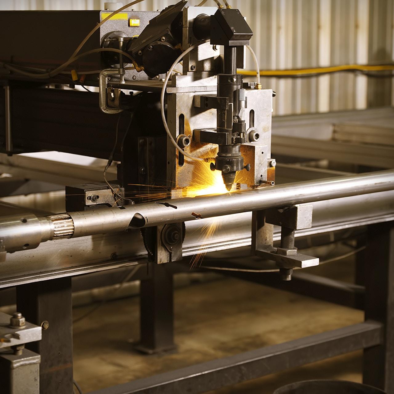 Precision CNC laser cutting