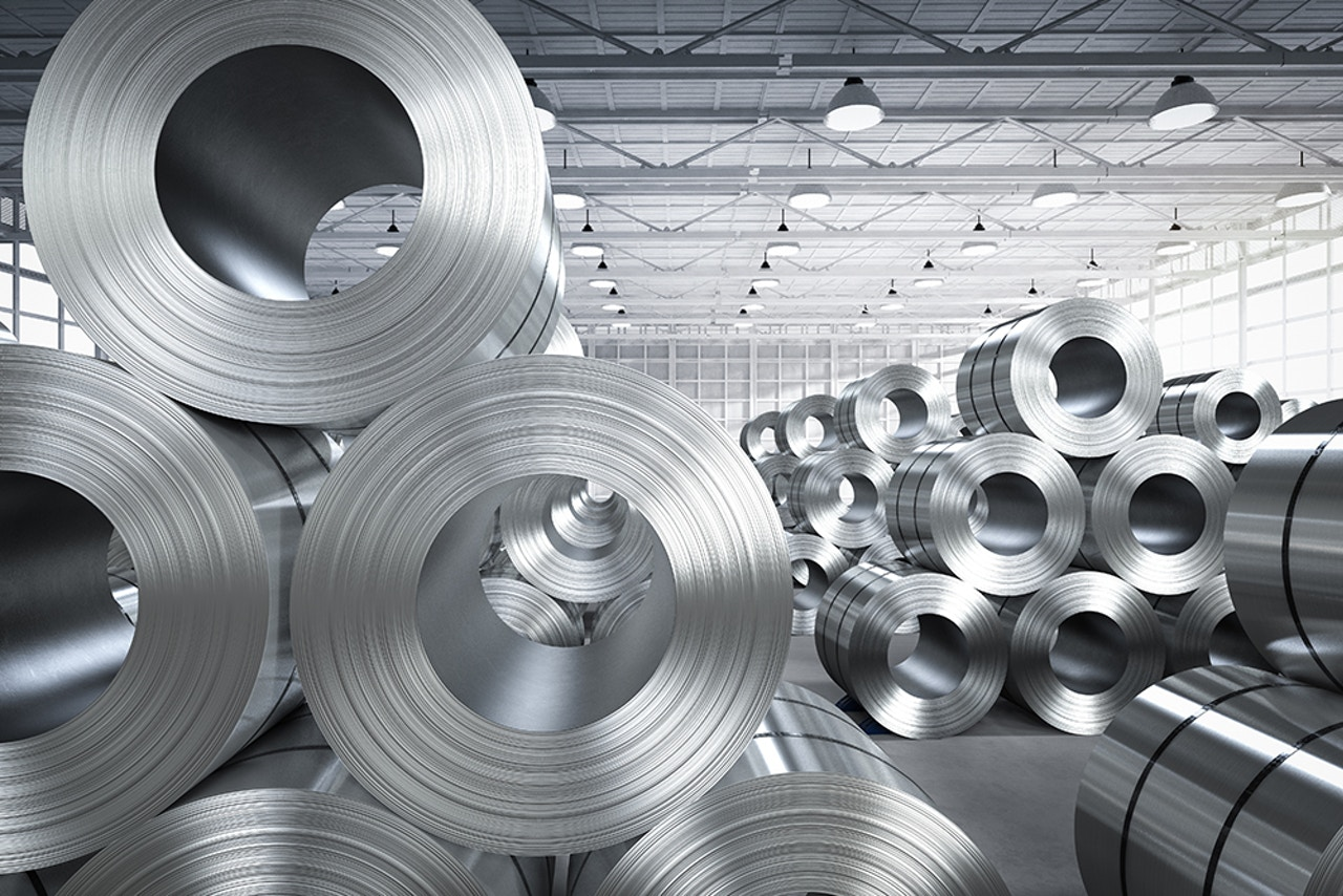 Precision component manufacturing - Banded steel coils