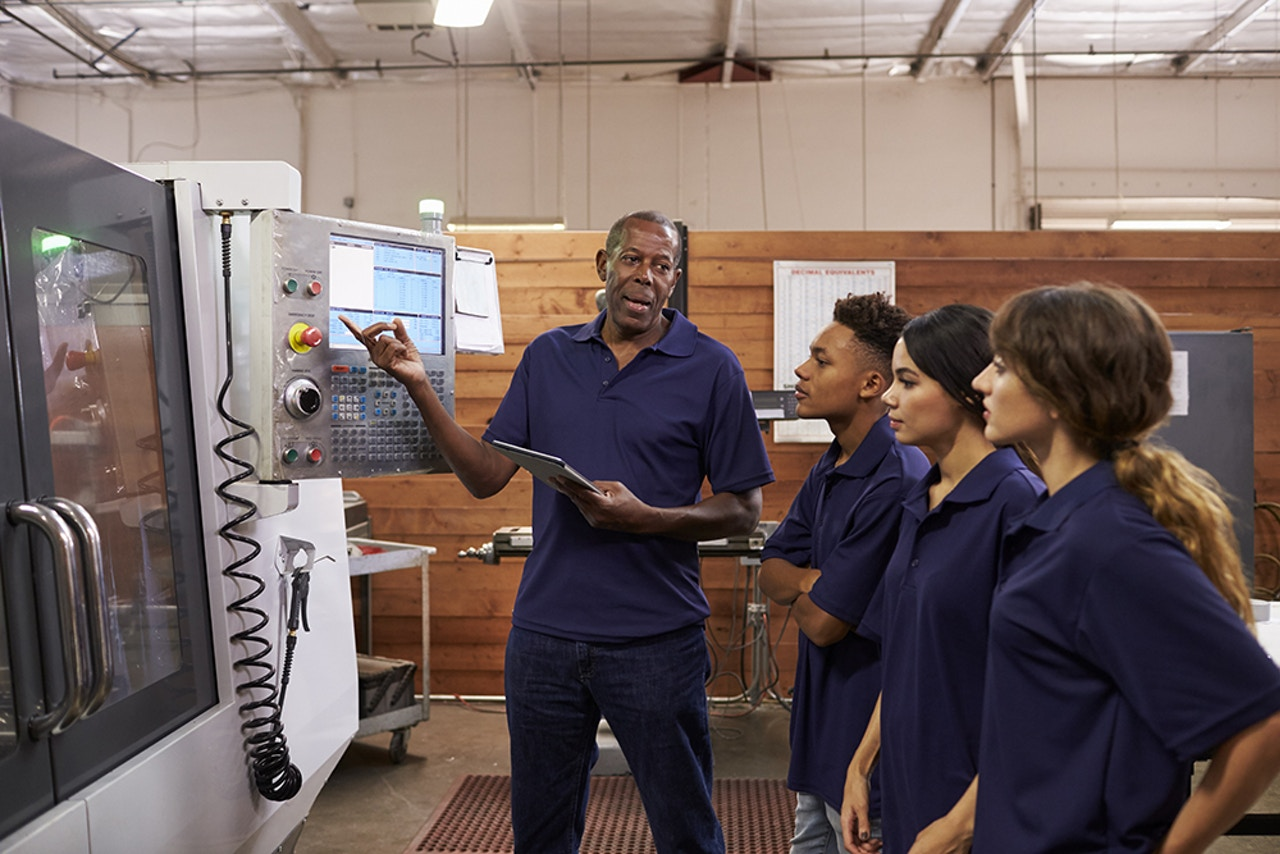 Precision CNC manufacturing