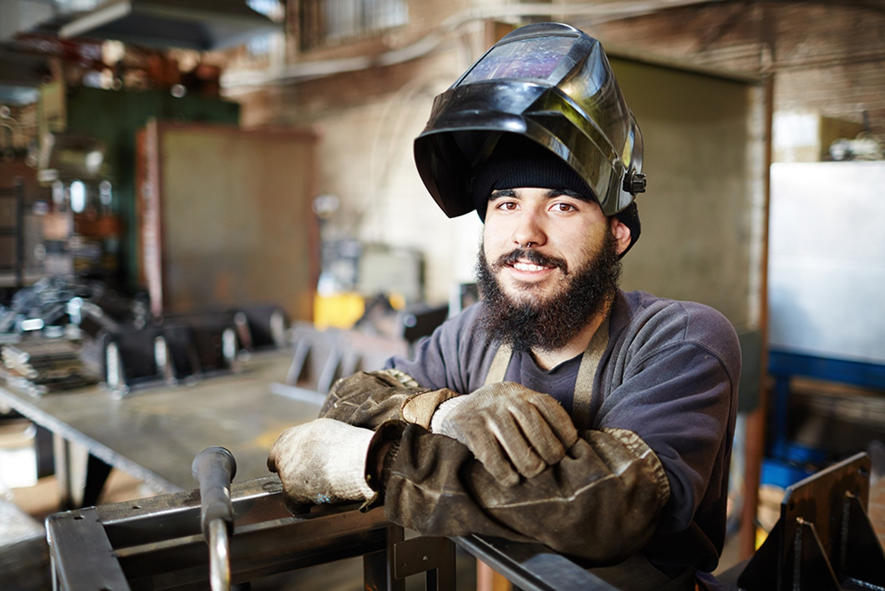 Industrial manufacturing - Welding & grinding