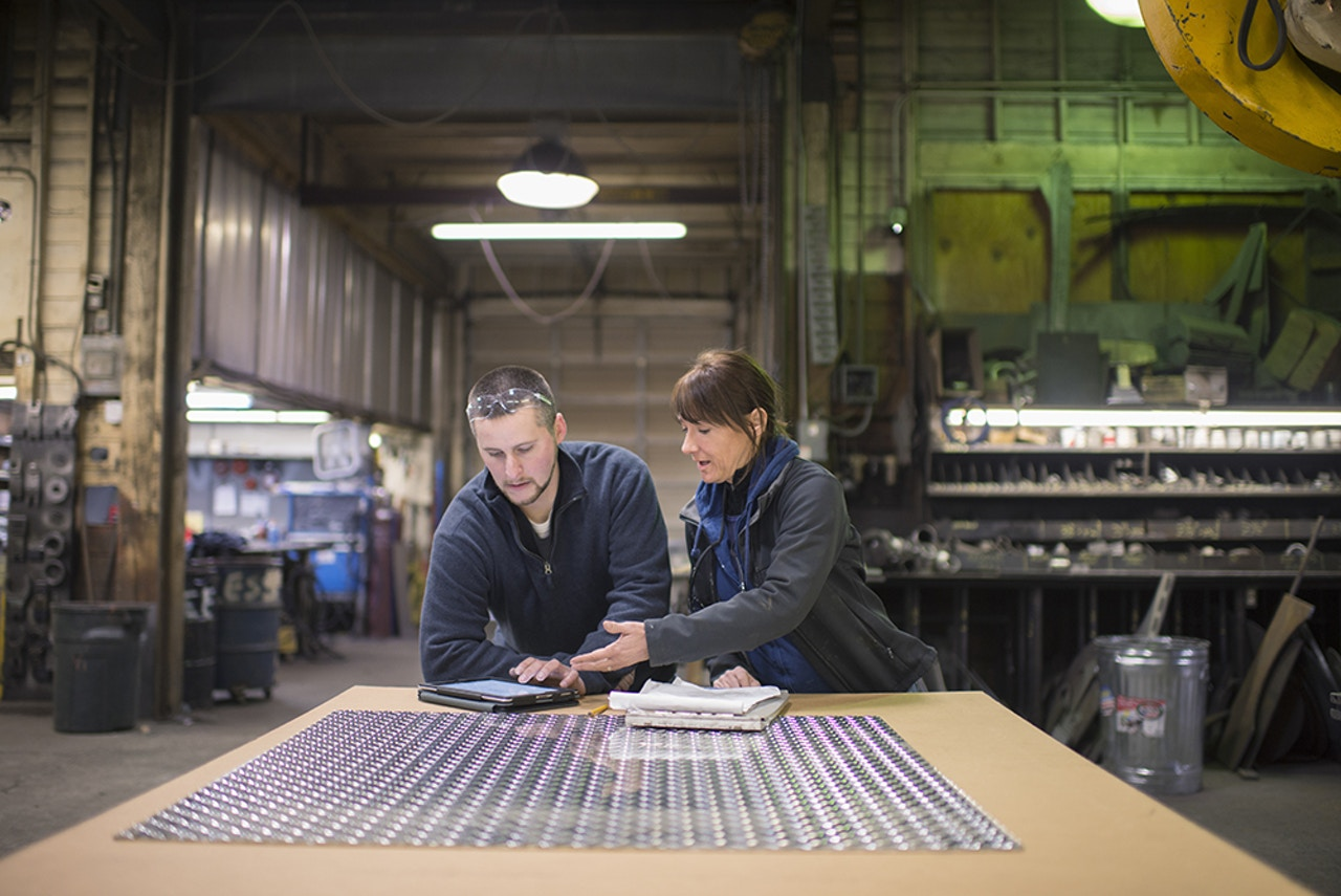 Custom industrial manufacturing - Quality control & design assistance