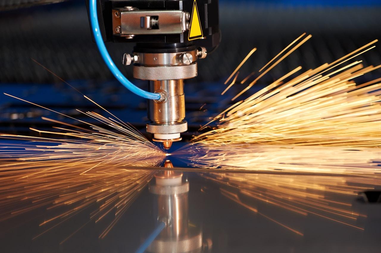 Precision industrial laser cutting