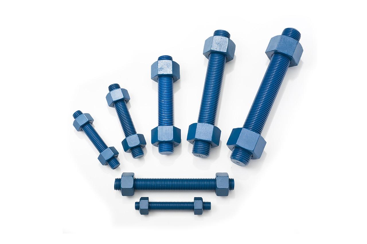 MW Components - PTFE Blue-Coated B7 Studs