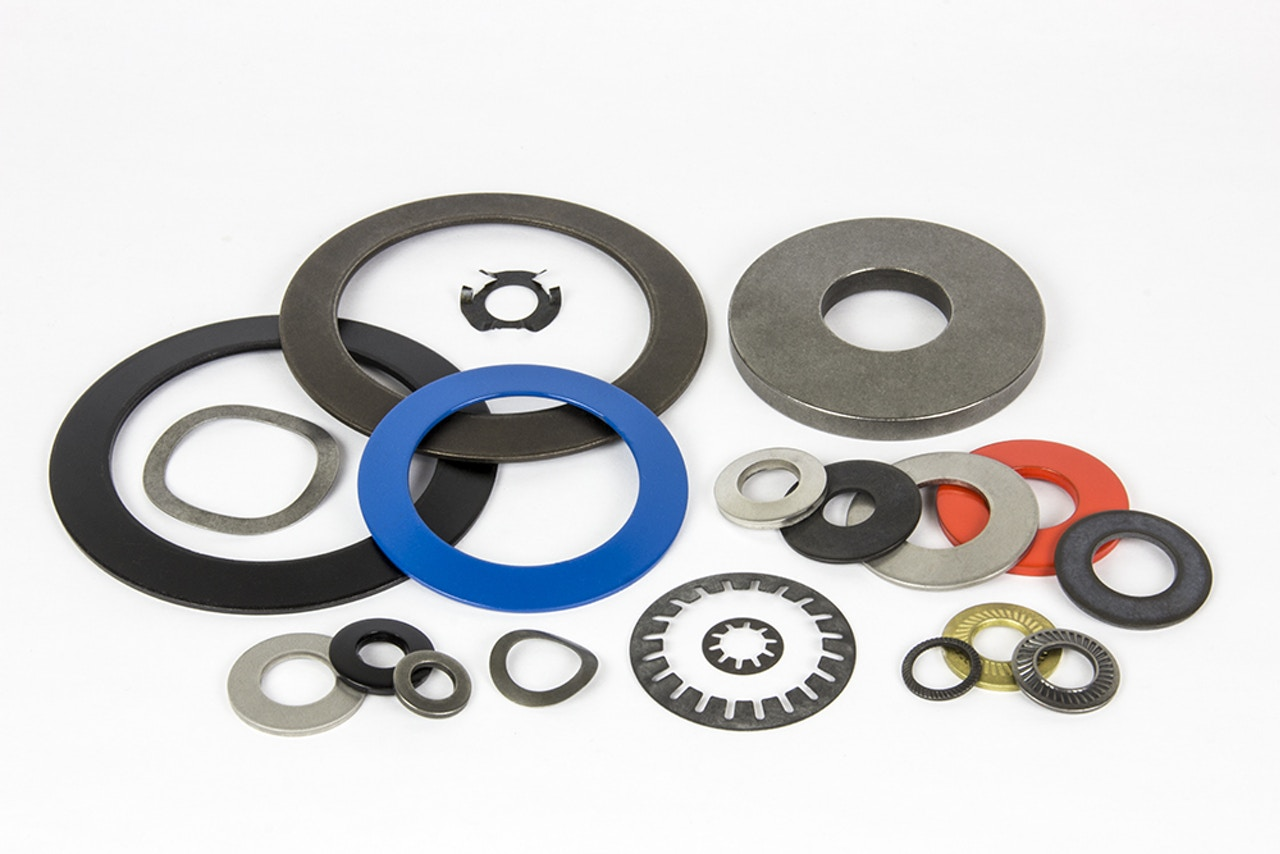 Custom machined components - Belleville washers & disc springs