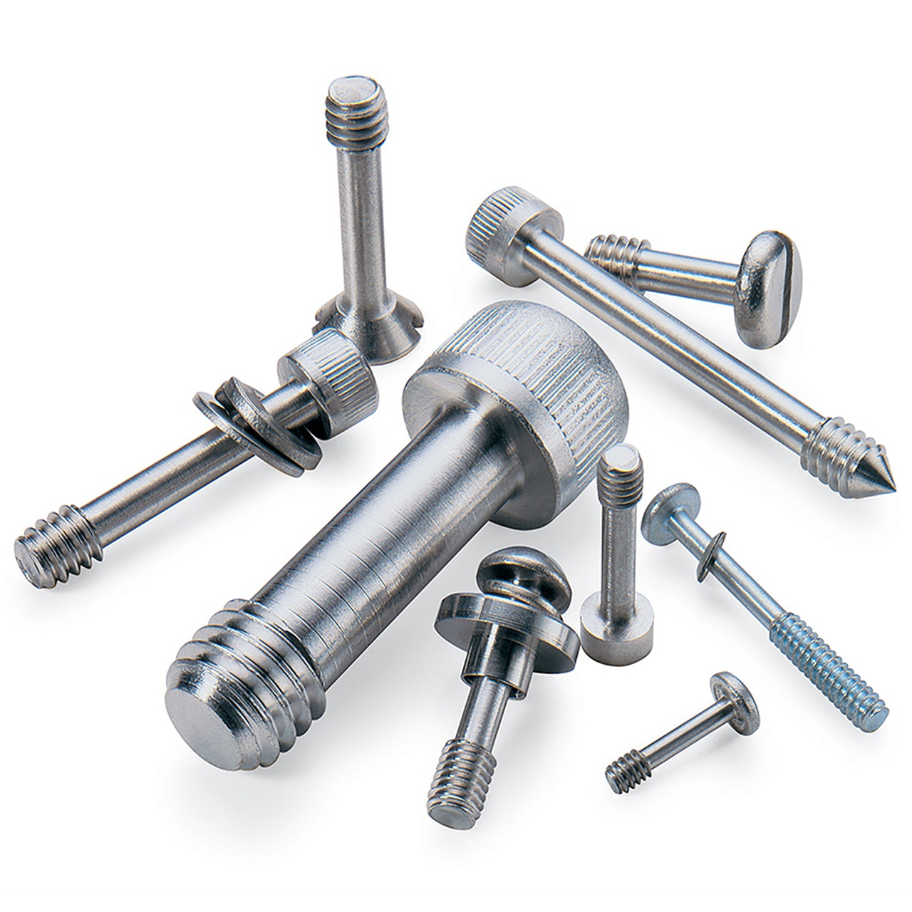 Captive screws and fasteners