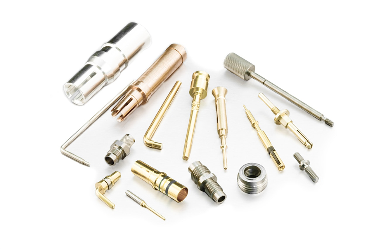 Precision machined components - Electronic hardware connectors & standoffs