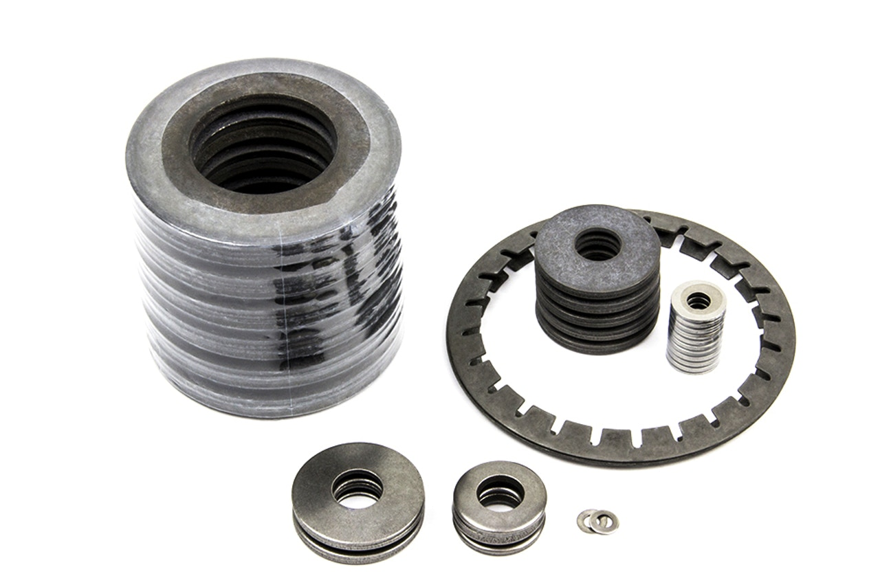 MW Components - Belleville washer stacks & disc springs
