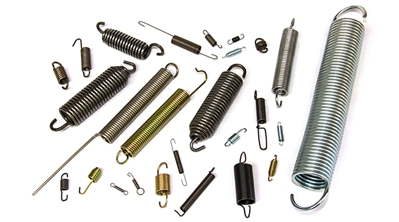 Large and Small Extension Springs