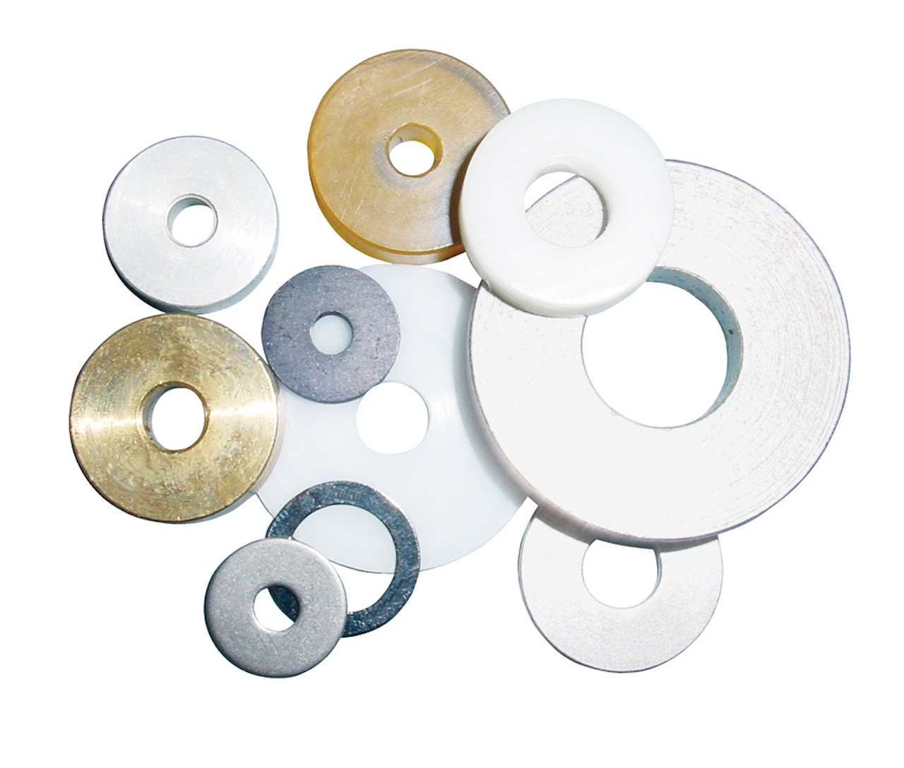 Custom component manufacturing - Flat washers