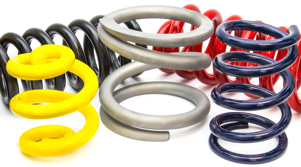 Large Hot Wound Suspension Springs