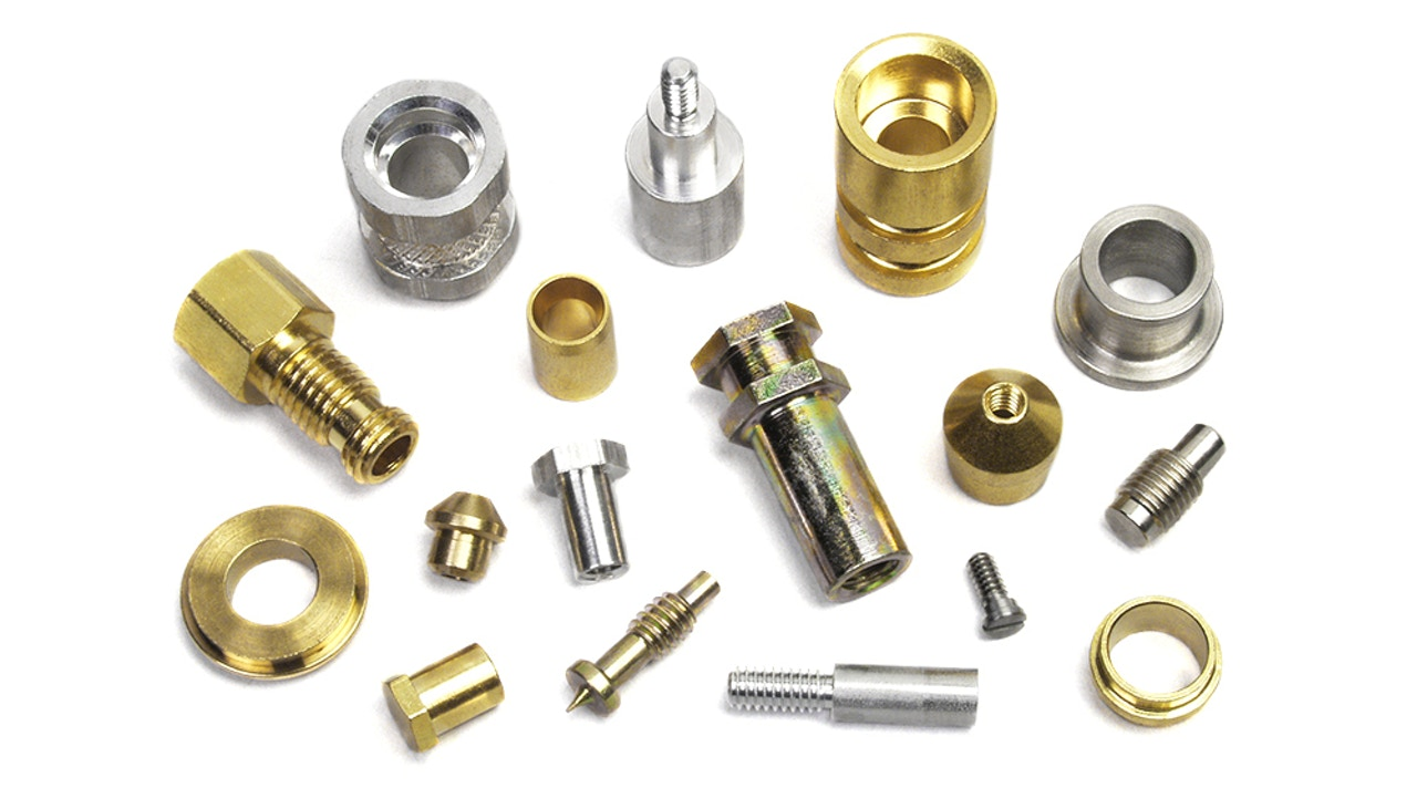 Precision machined fastener products - Custom CNC inserts