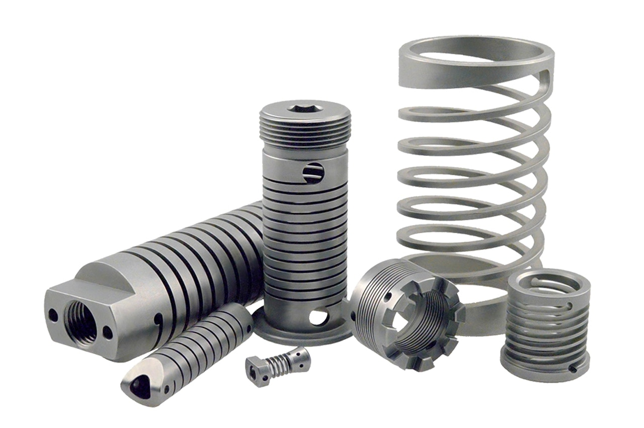 MW Components - Precision machined springs