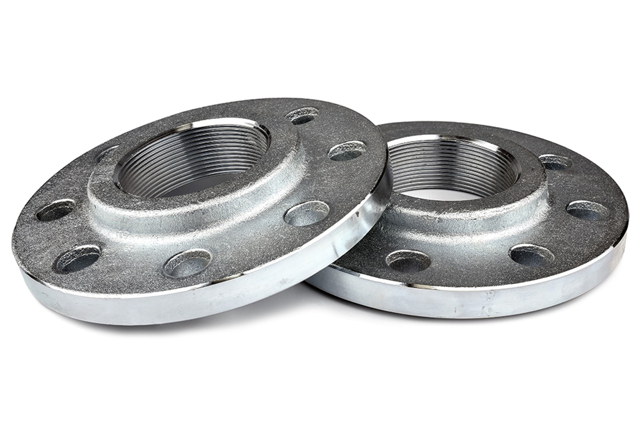Custom metal flanges - Milled, drilled & threaded