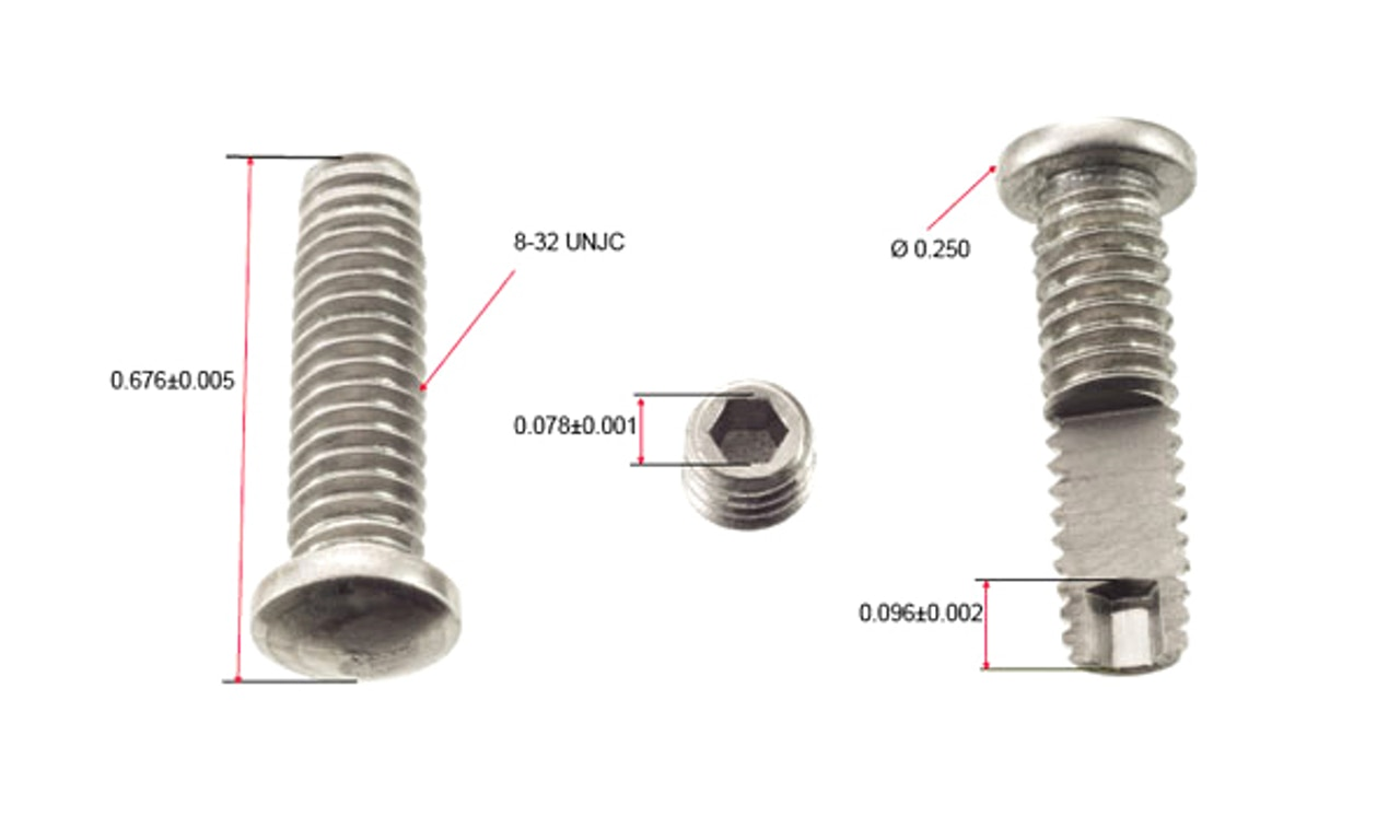 MW Components - Micro cold-headed Aerospace fasteners