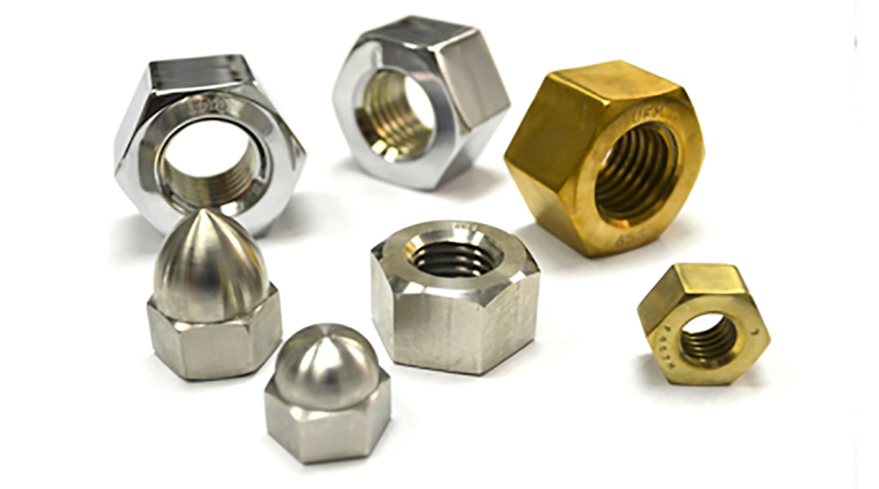 Nuts hardware