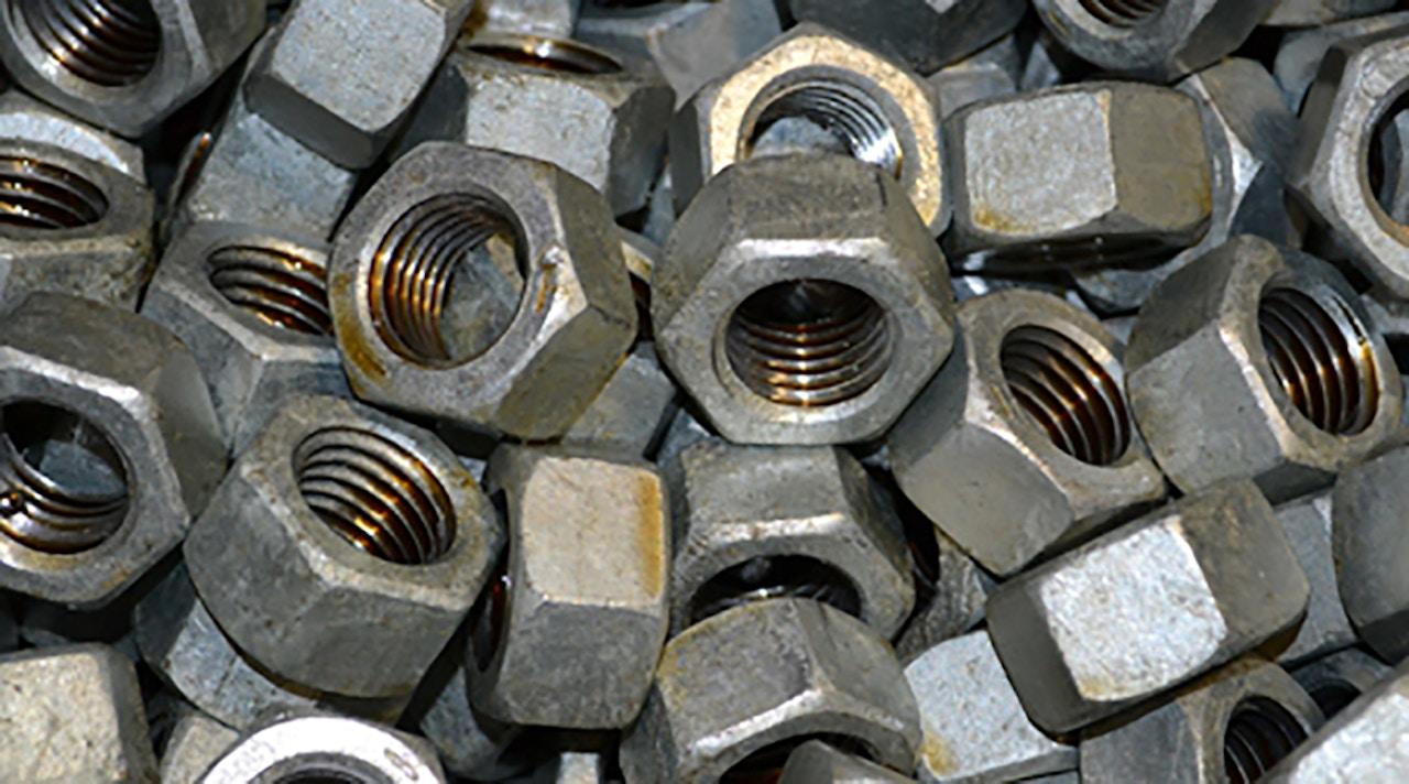Custom fastener components - Threaded nuts