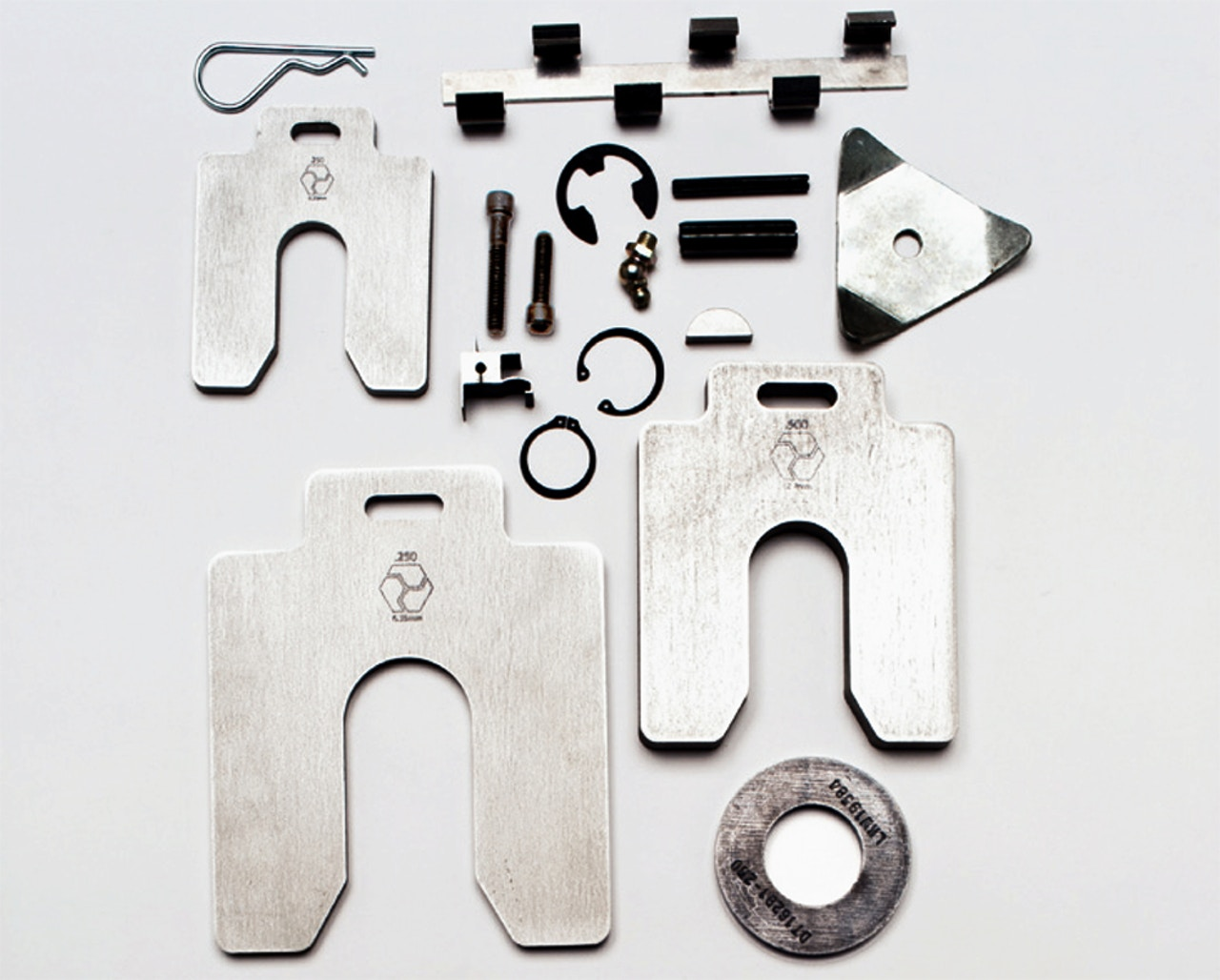Precision machined components - Thick shims and related products