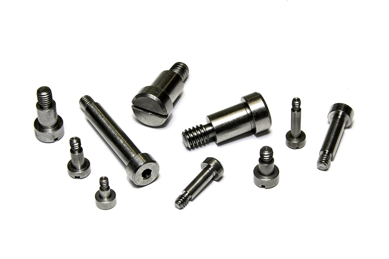 Precision fastener manufacturing - Shoulder screws