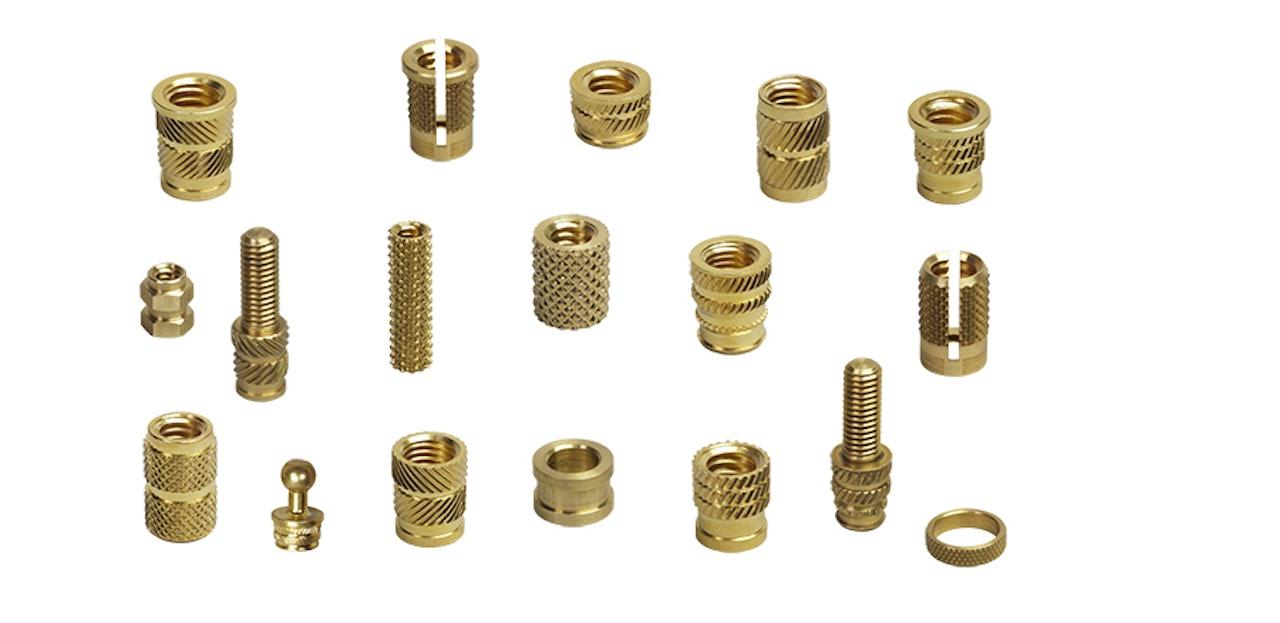 MW Components - Threaded Inserts for Plastics, Compression Limiters, CNC Studs
