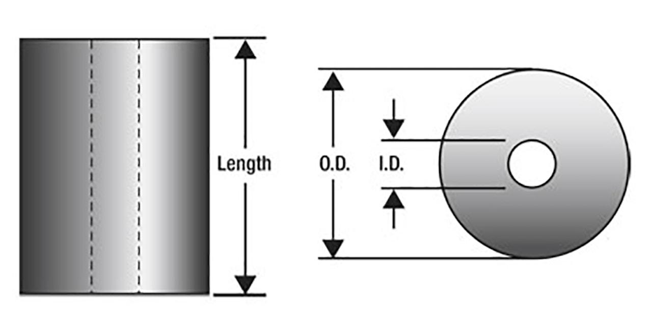 MW Components - Urethane spring diagram