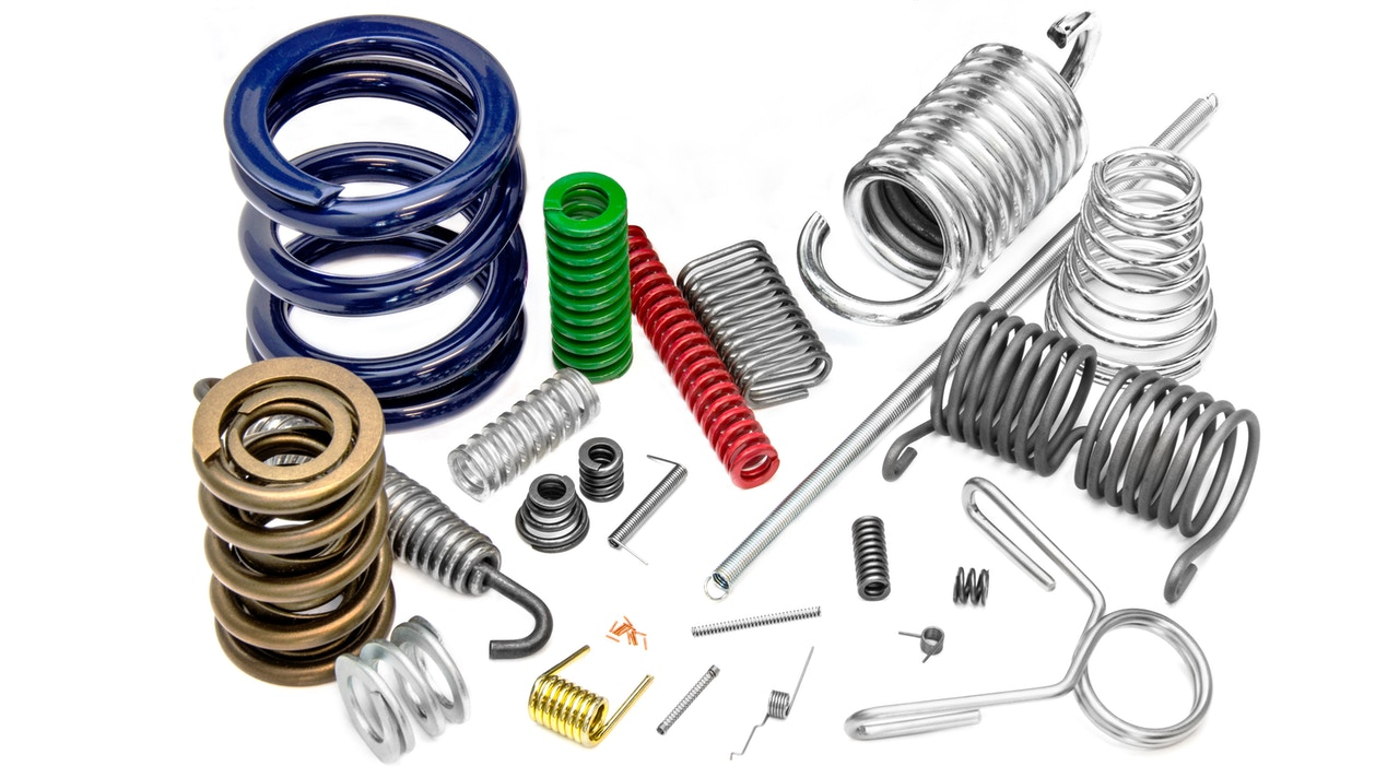 Custom springs manufacturing - Compression, extension, torsion, tapered, valve, shaped...