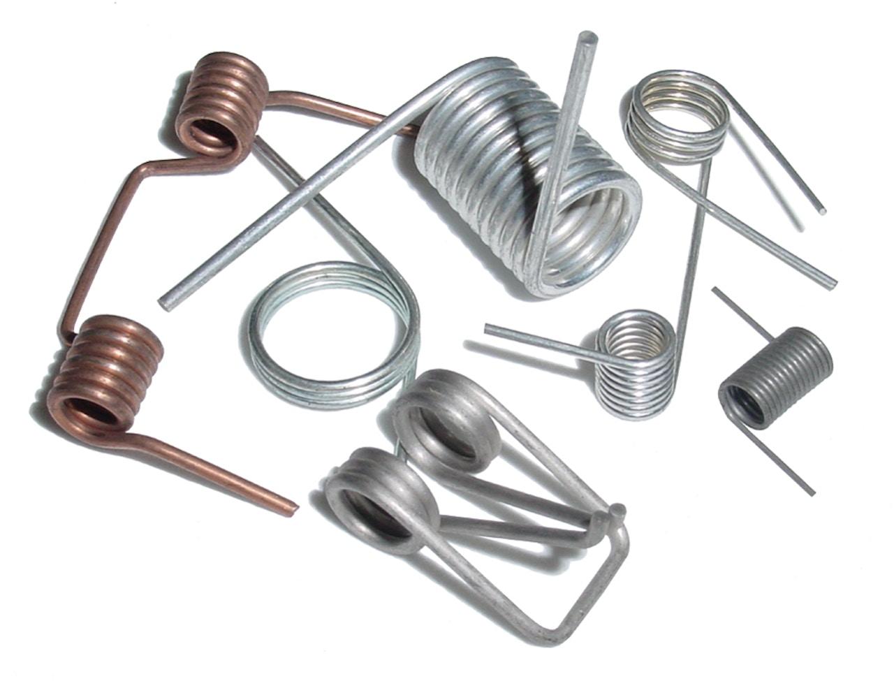 Custom spring components - Torsion springs