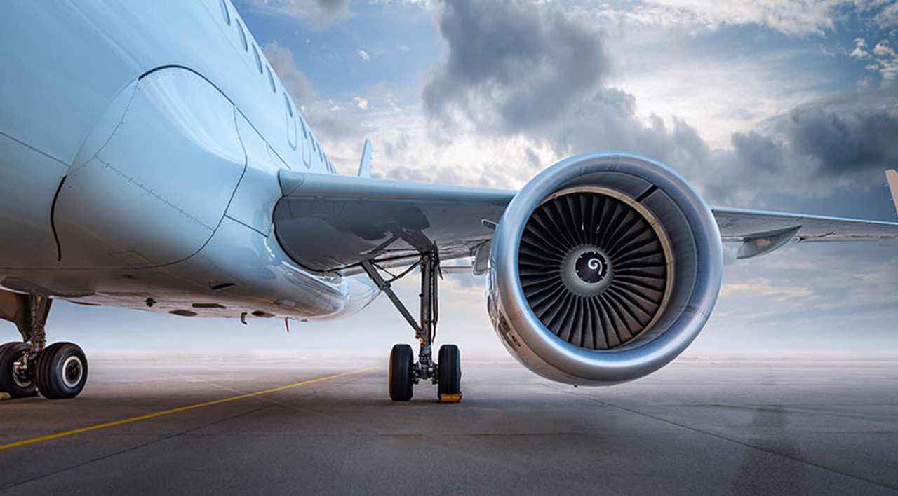 Flight engine - aerospace component manufacturing