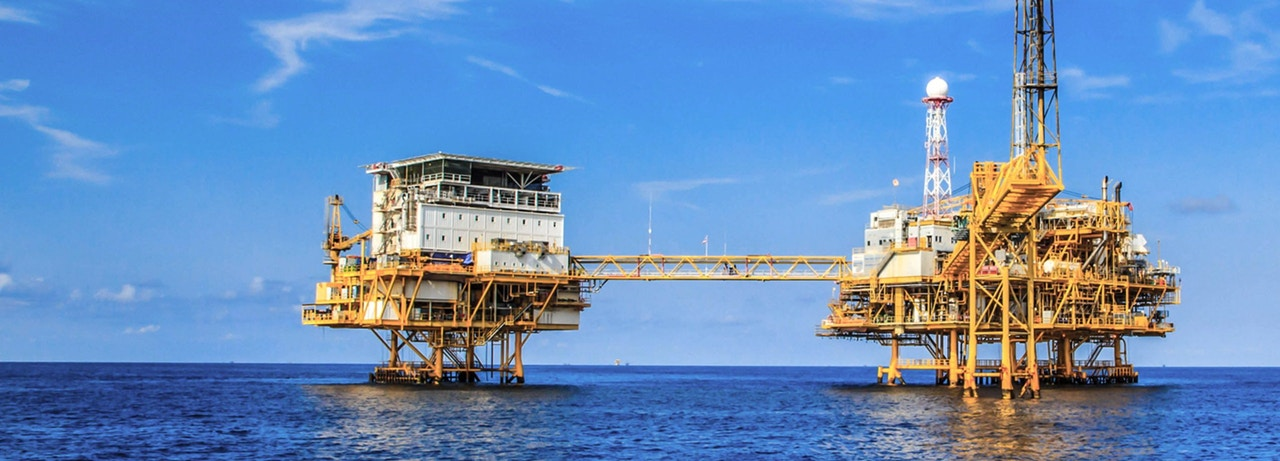 Ocean oil rig - precision energy and oilfield components