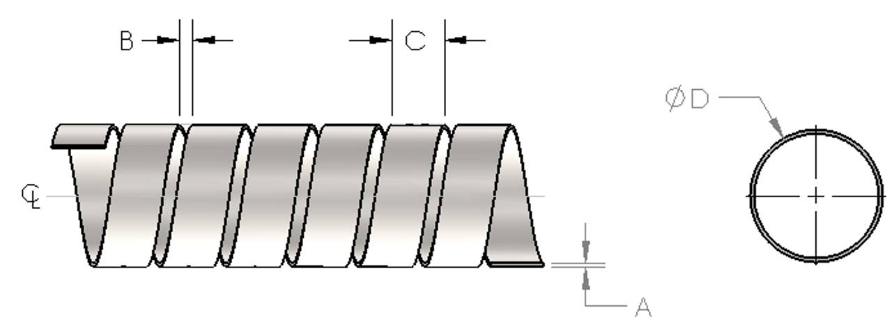 Helical Drawing