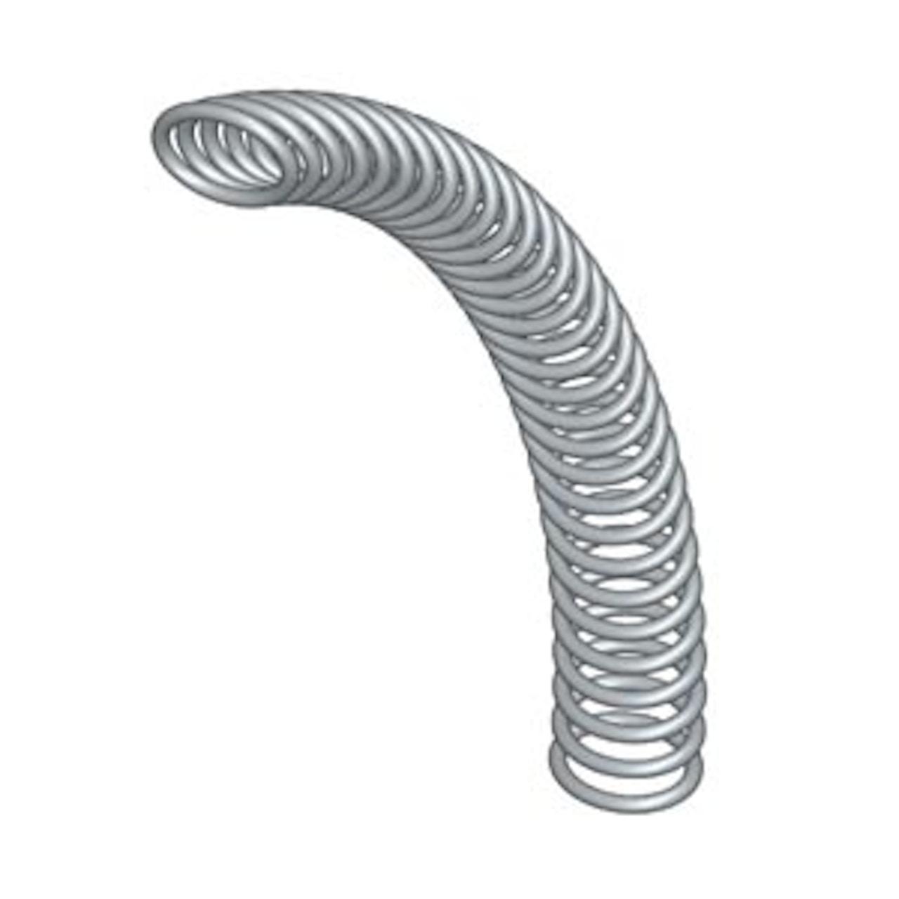 slant coil spring