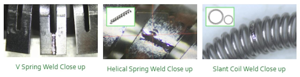 Weld Close Ups