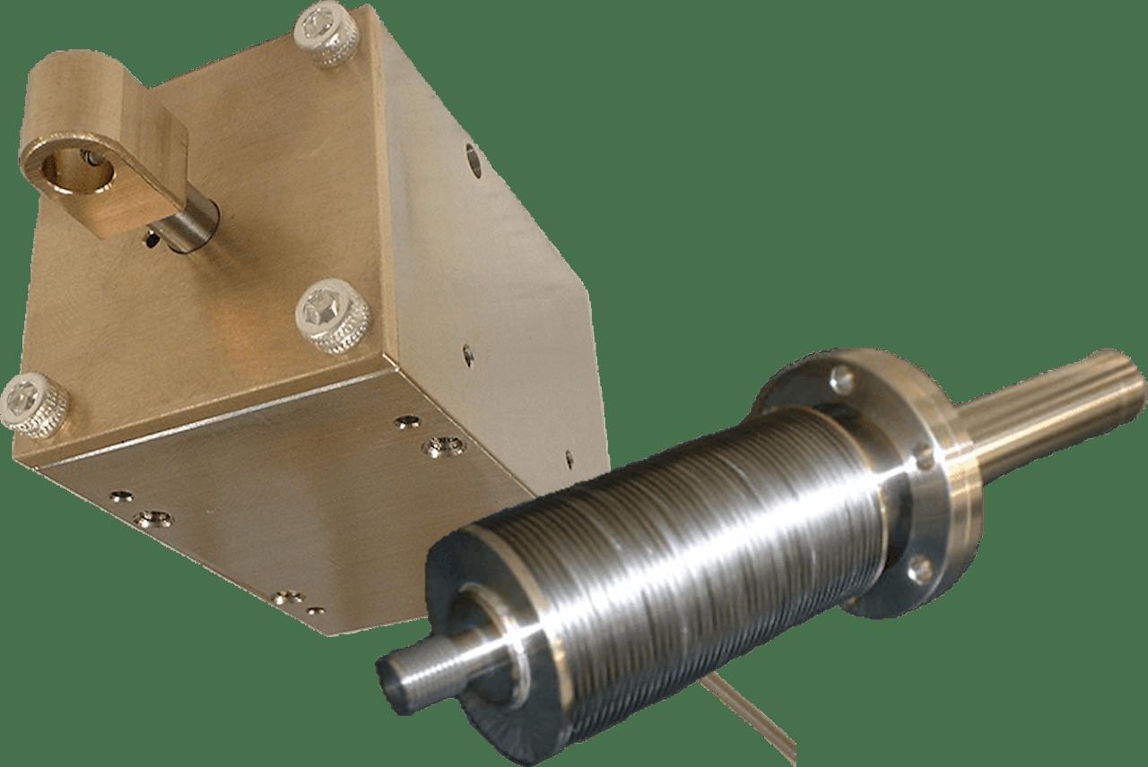 Mechanical feedthrough bellows