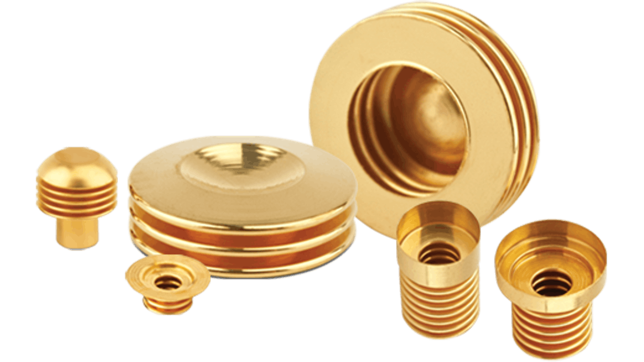 Standard bellows electrical contacts