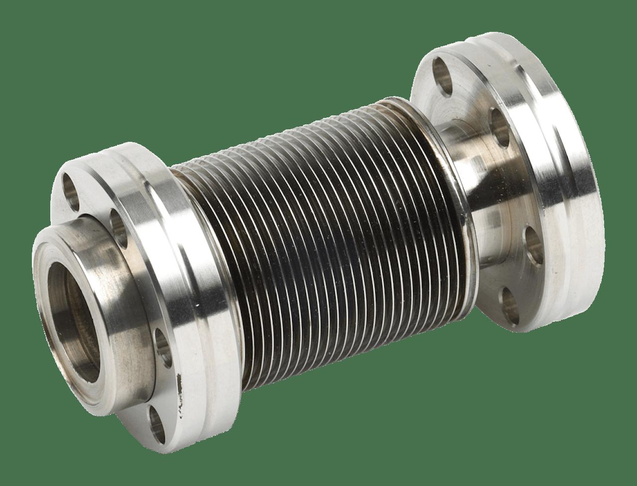 Titanium bellows
