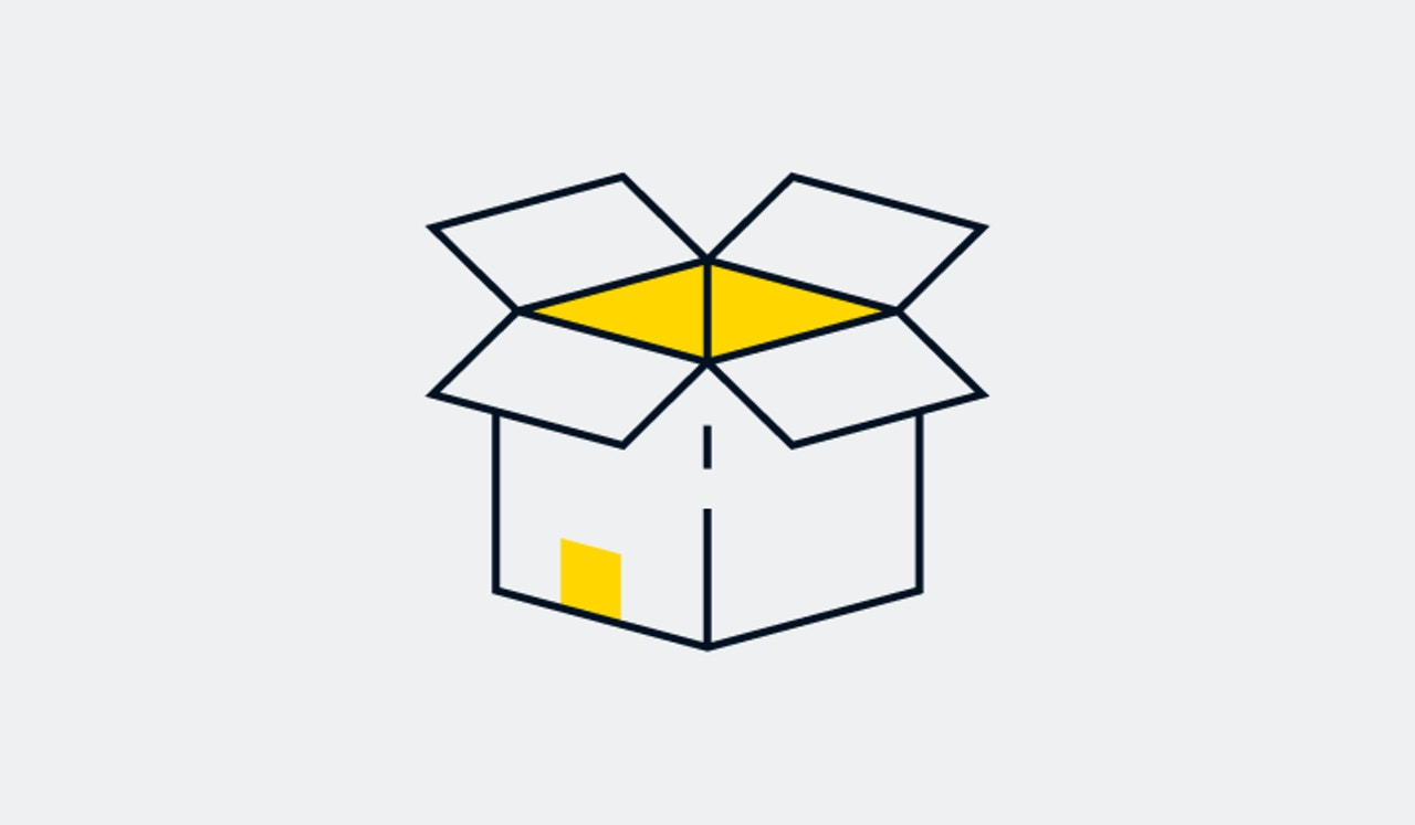 Component packaging illustration