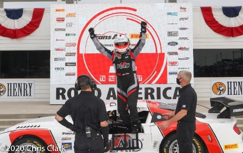 Racing and motorsports victory photo